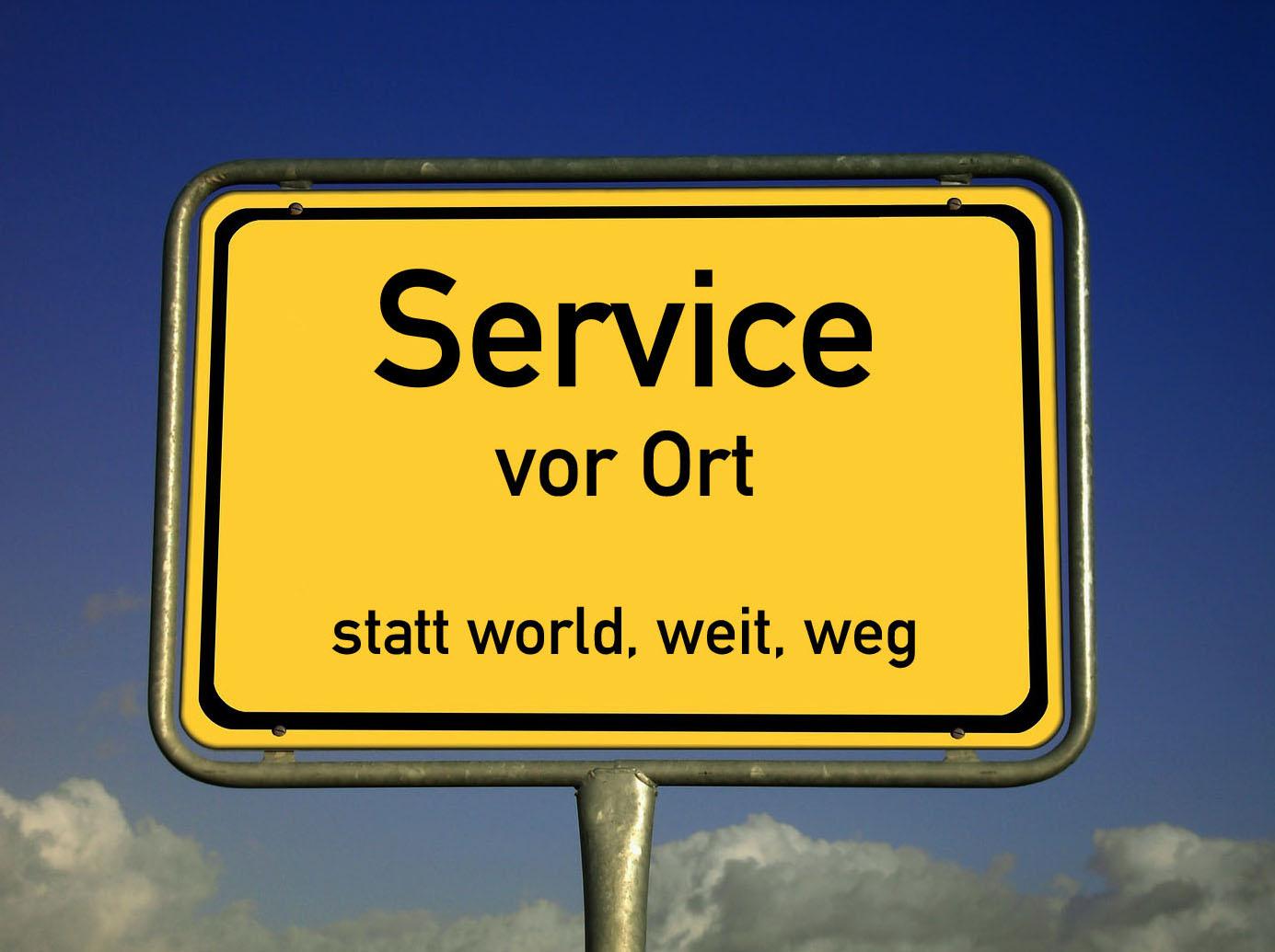 Service vor Ort